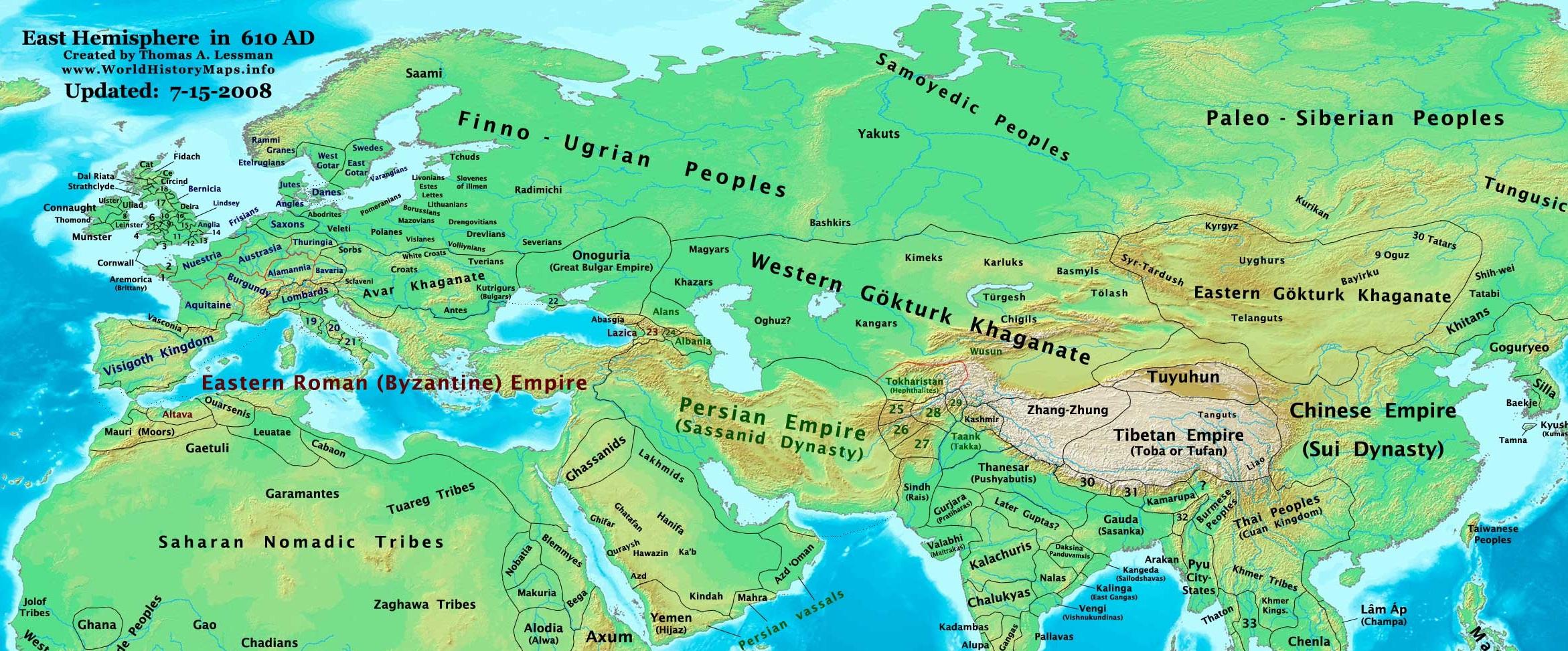 610 AD