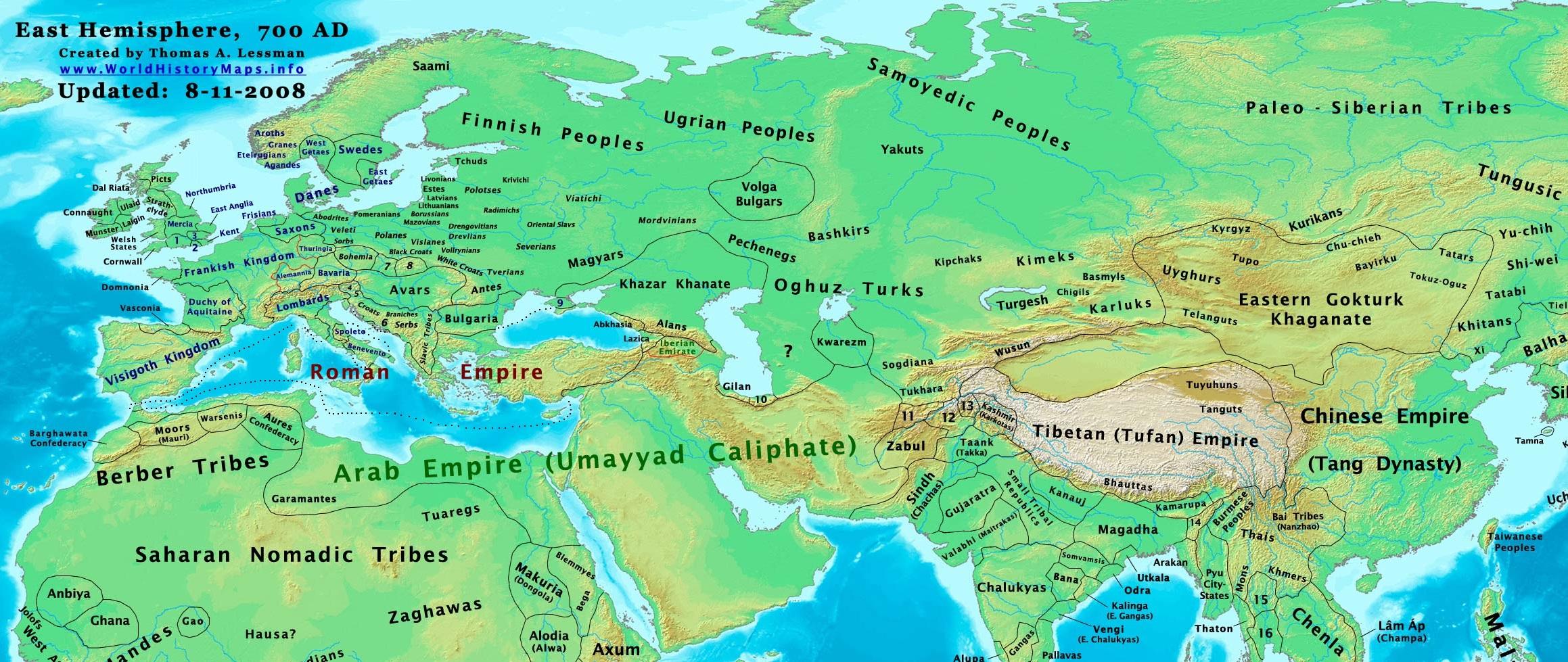 700 AD